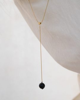 Globe Gold Necklace