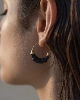 Coil Gold Earrings