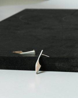Flipper earrings