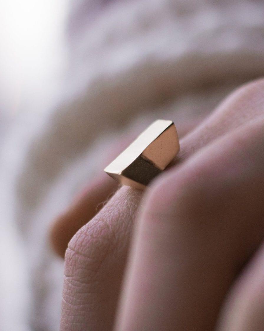 Bar Gold Ring