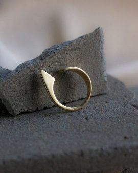 Flipper Gold Ring