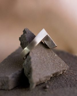 Bar Silver Ring