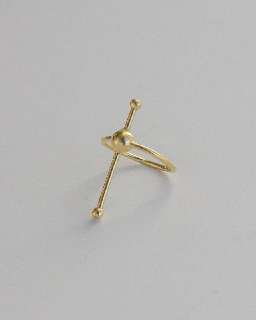 Mars Gold Ring