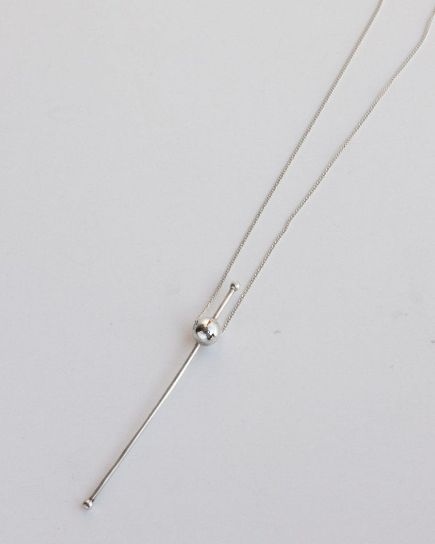 Mars Silver Necklace