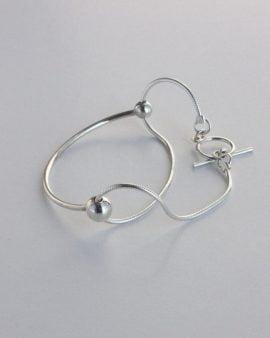 Milky Way Silver Bracelet