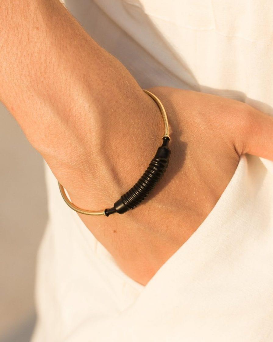 Coil Gold Bracelet