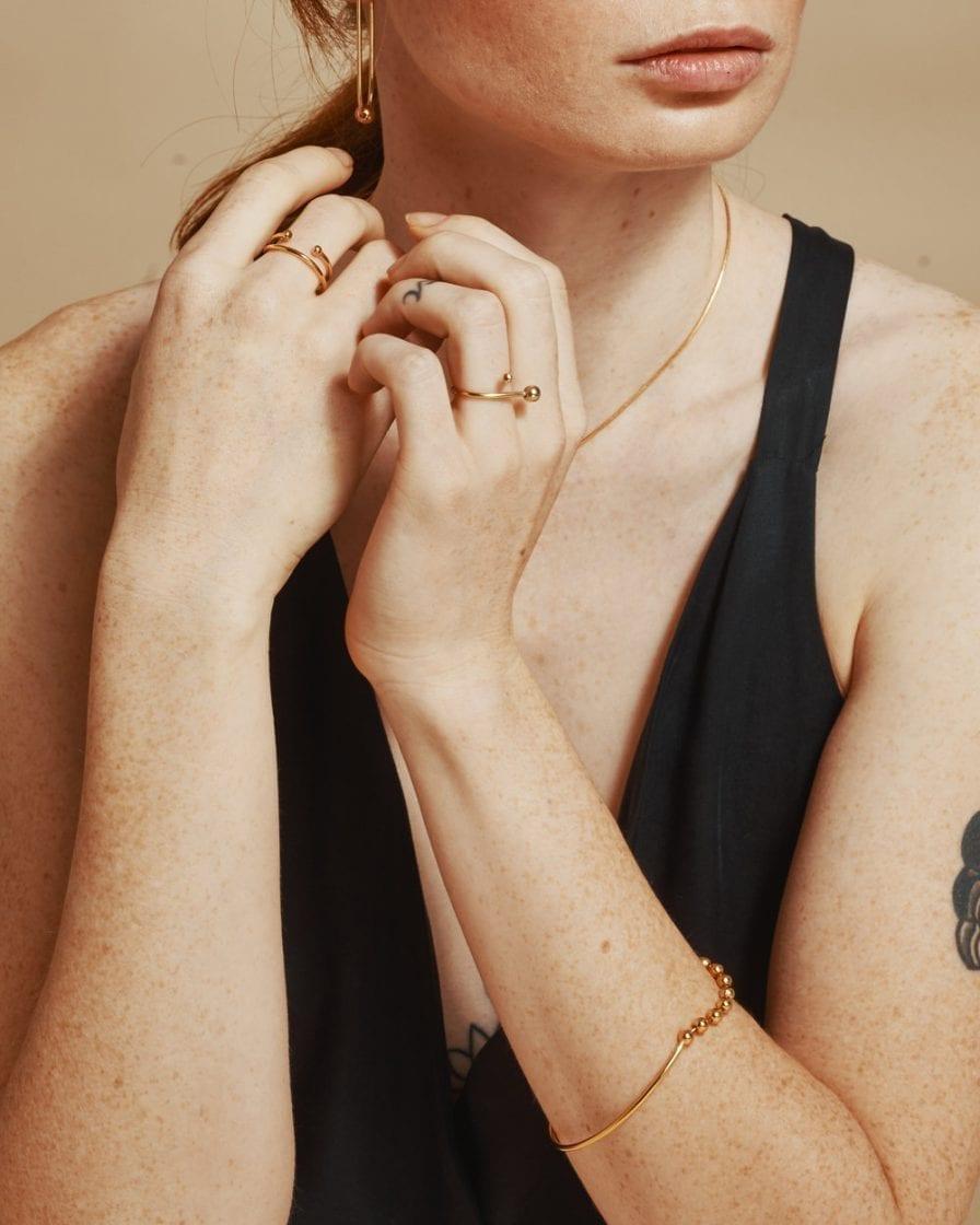 Venus Gold Bracelet