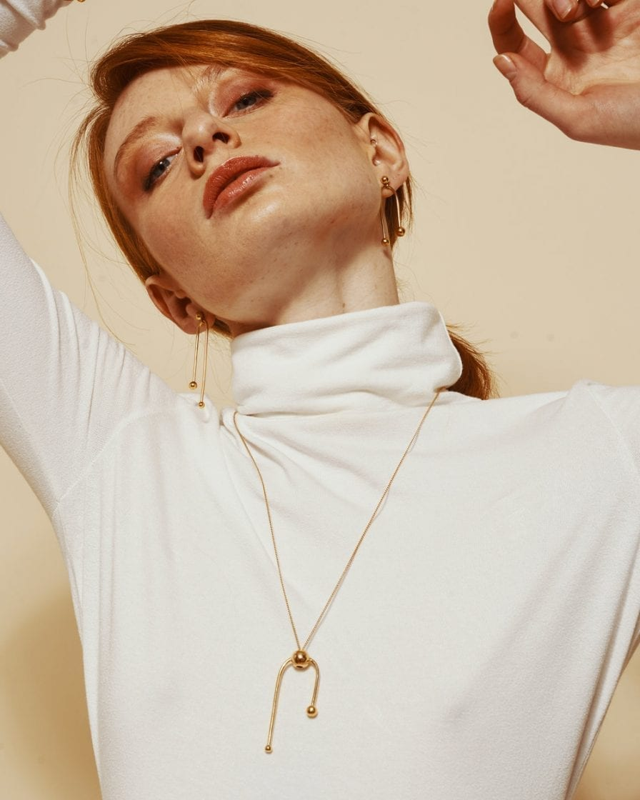 Andromeda Gold Necklace