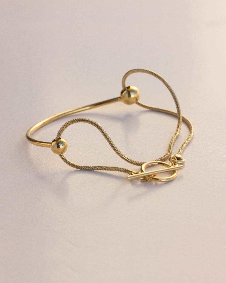 Milky Way Gold Bracelet