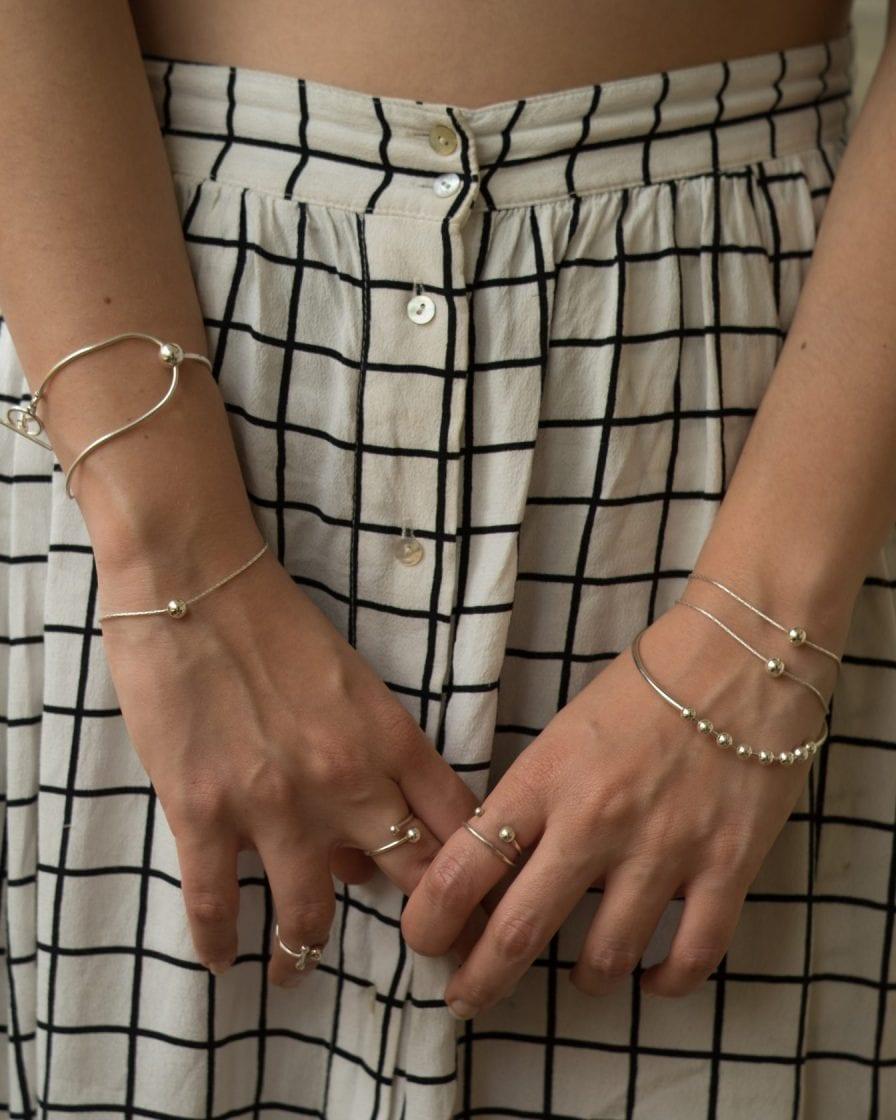 Universe Silver Bracelet