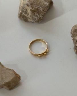 טבעת ארגון זהב 14K
