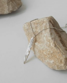 Terra Silver Necklace