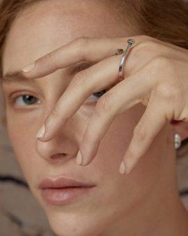 טבעת מרקורי כסף