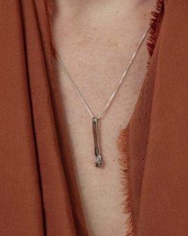 Argon Silver Necklace