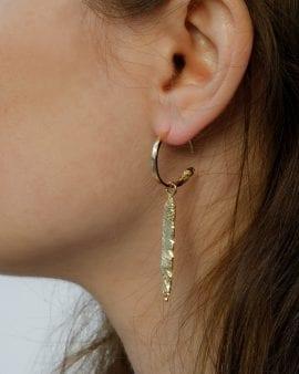 Mini Gypsy Terra Gold Earring